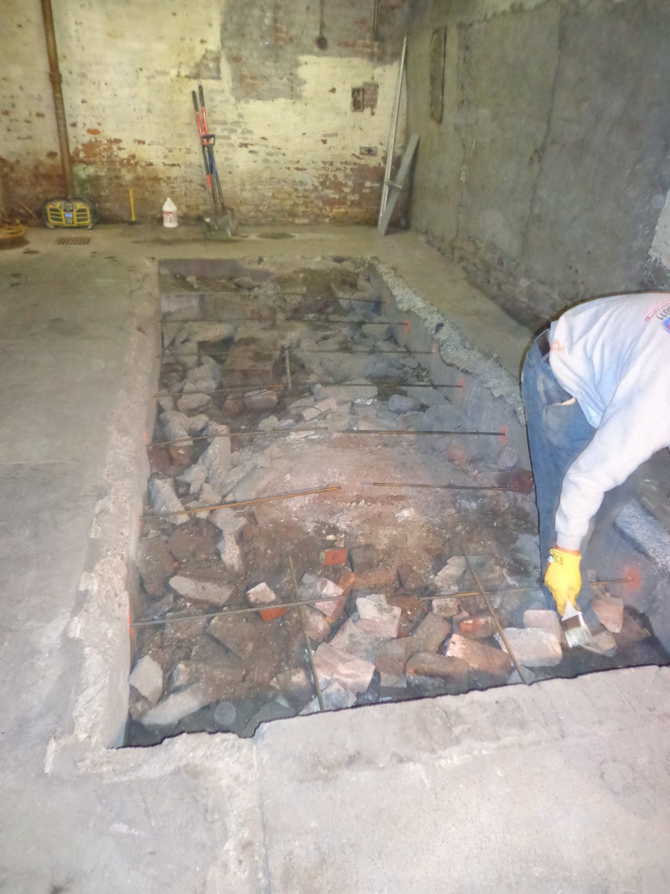 basement concrete floor repair cincinnati ohio hughes construction