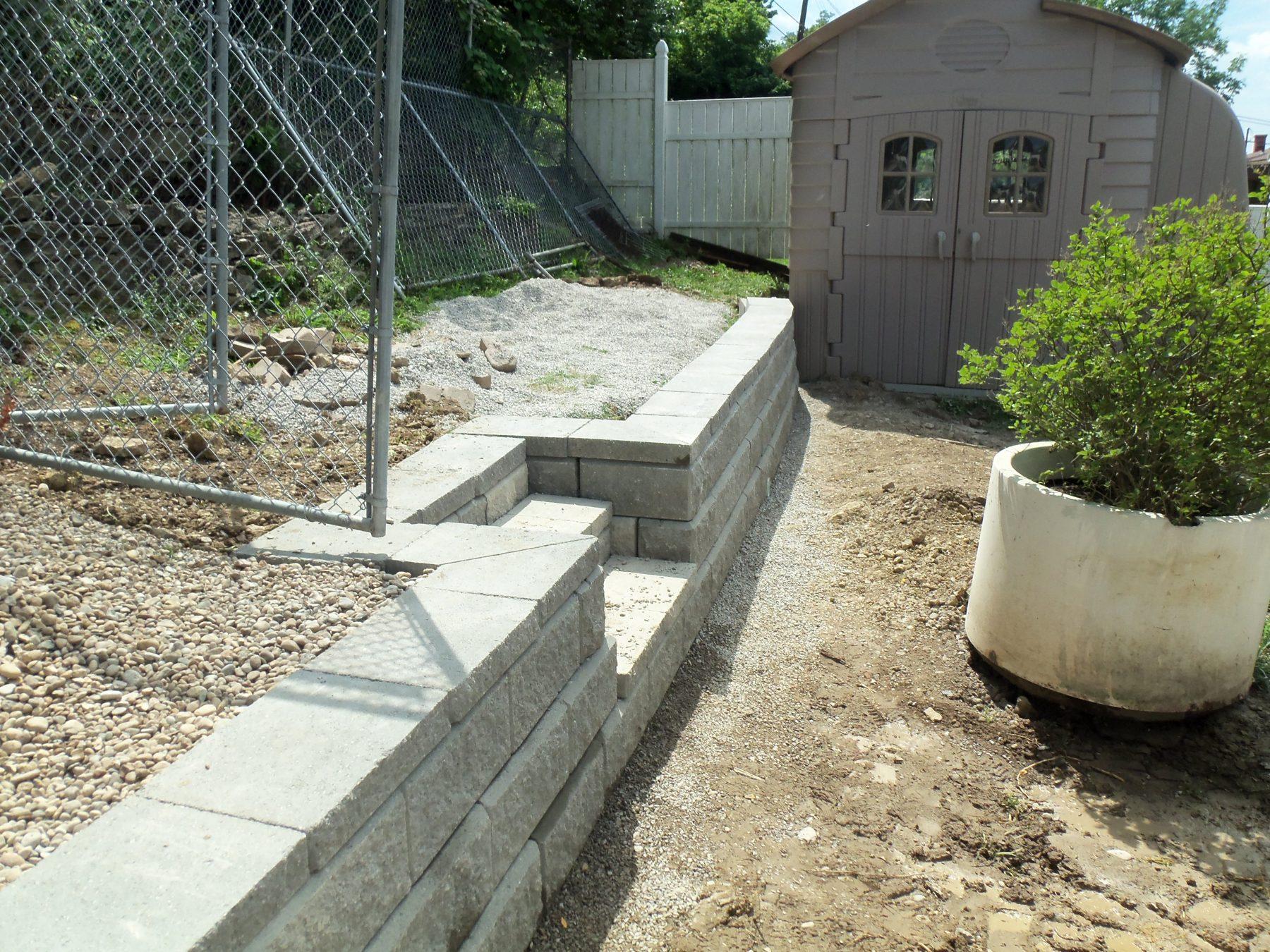 Allen Block Retaining Wall