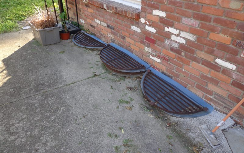 Concrete Patio And Drainage Install Cincinnati Ohio