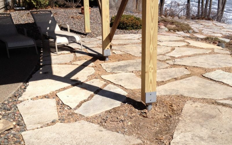 Deck Helical Piers | Hughes Construction