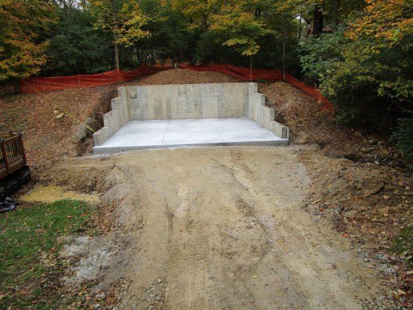 Hillside Garage Addition Hughes Construction