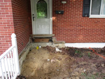 Helical Piers | Cincinnati Foundation Repair | Hughes