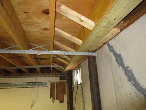 basement walls repaired