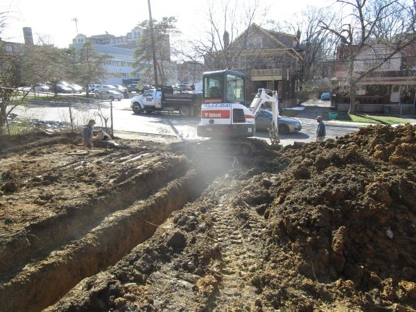 Excavation for New Construction