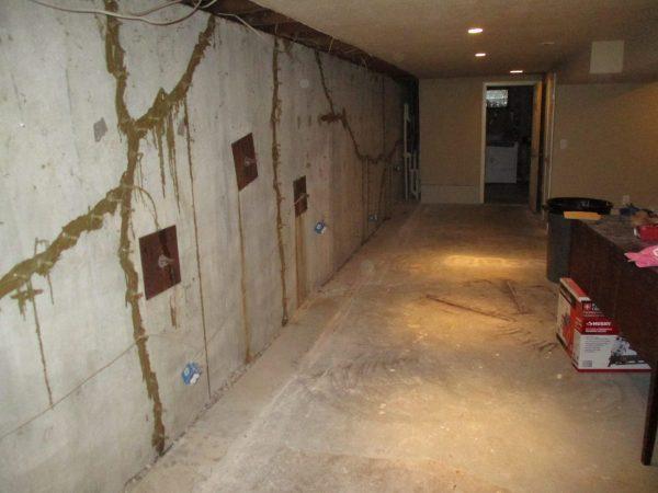 Previous Foundation Repair