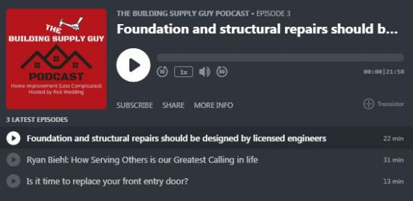 Building Supply Guy