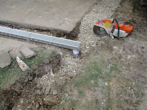 Drains Continued-Trench Drains