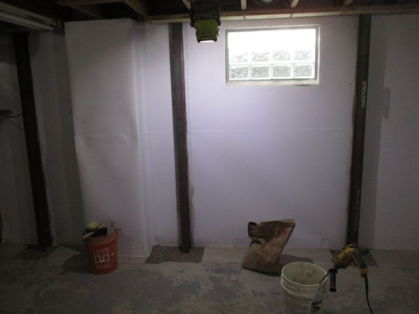 basement wall repairs