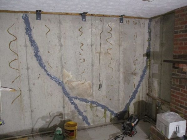 Repairs to foundation walls